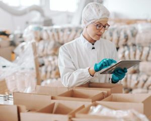 haccp –Hazard Analysis and Critical Control Point garments for the promotion of hygiene in the food processing industry.